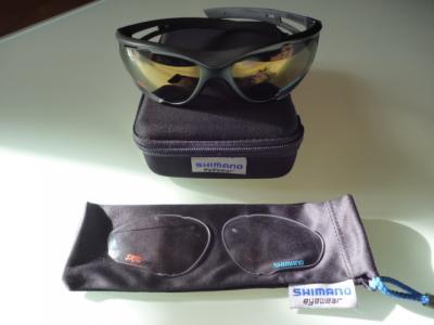 Lunettes SHIMANO S50X (noir siglé SKIL)