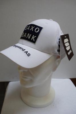 Casquette podium SAXO-BANK blanche