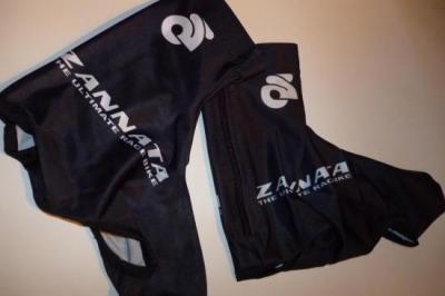 Couvre-chaussures lycra noirs ZANNATA