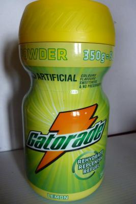Boîte 350g GATORADE citron