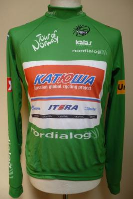 Maillot vert Tour de Norvège-KATUSHA
