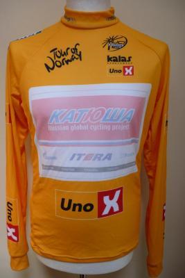 Maillot jaune Tour de Norvège-KATUSHA