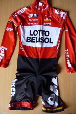 Combinaison manches longues LOTTO-BELISOL 2014 (équipe féminine)