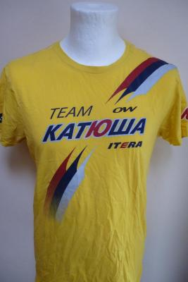 T-shirt jaune KATUSHA-TDF 2015