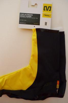 Couvre-chaussures lycra MAVIC CXR-Ultimate (jaune/noir)