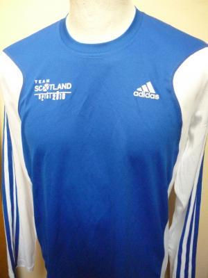 T-shirt manches longues équipe nationale d'ECOSSE