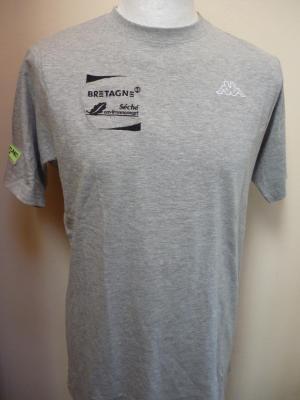 T-shirt gris BRETAGNE-SECHE