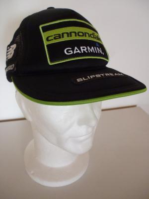Casquette podium noire CANNONDALE-GARMIN