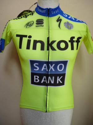 "Maillot TINKOFF-SAXO 2015 ""Race"" (mod.1)"