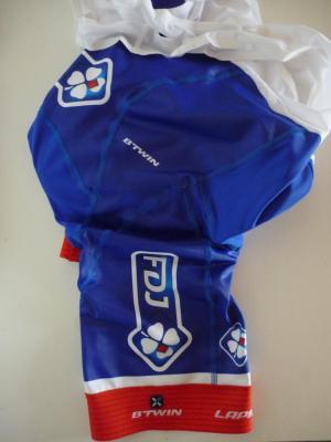 Cuissard bleu FDJ (taille M, mod.1)