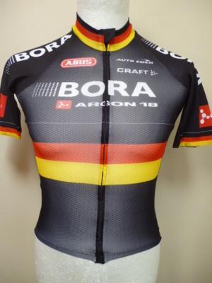 Maillot aéro BORA-Ch. d'Allemagne (noir)