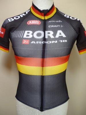 Maillot aéré BORA-Ch. d'Allemagne (noir)