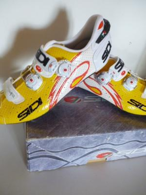 Chaussures SIDI-WIRE (taille 45, jaunes)