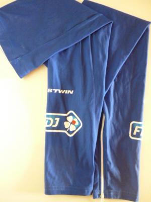 Jambières bleues FDJ