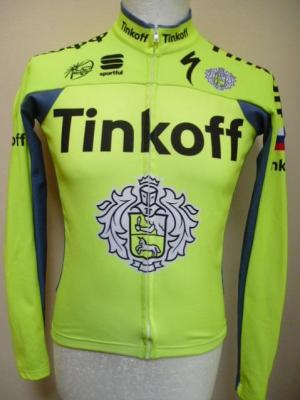 Maillot doublé manches longues TINKOFF 2016 (mod.1)