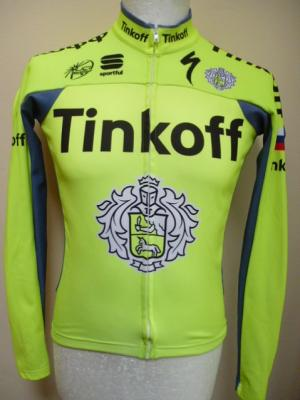 Maillot doublé manches longues TINKOFF 2016 (mod.2)