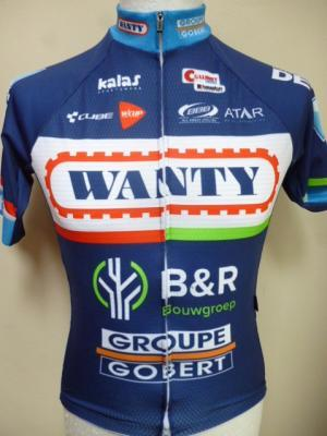 Ensemble maillot/cuissard WANTY 2016 (2 pièces)