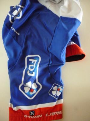 Cuissard bleu doublé FDJ (taille M, mod.2)