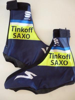 Couvre-chaussures doublés TINKOFF-SAXO (fluo TDF)