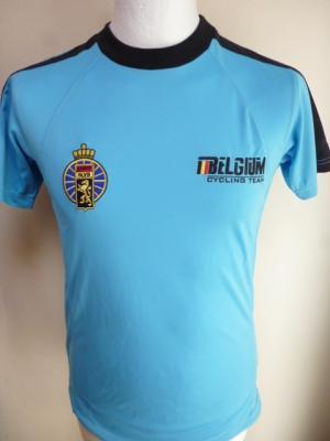 T-shirt bleu équipe de BELGIQUE