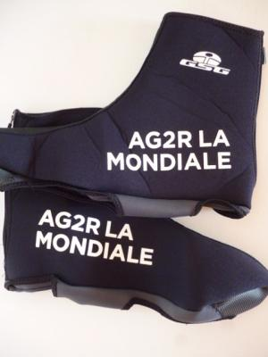 Couvre-chaussures néoprène AG2R 2017