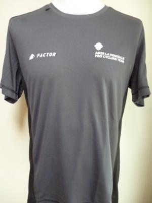 T-shirt marron AG2R 2017