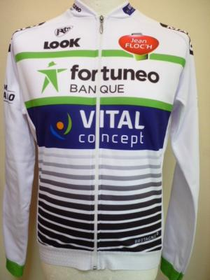 Maillot doublé luxe ML FORTUNEO 2017 (Vital-Concept, taille XL)