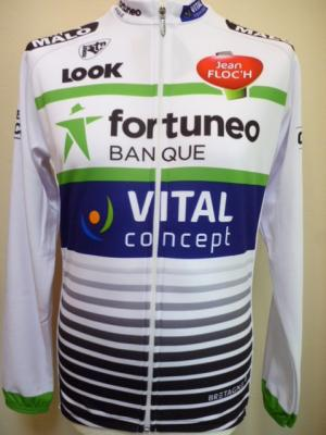 Maillot doublé ML FORTUNEO 2017 (Vital-Concept, taille M)