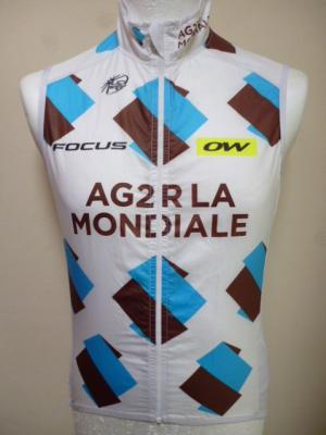 Gilet coupe-vent AG2R 2016 (taille S)