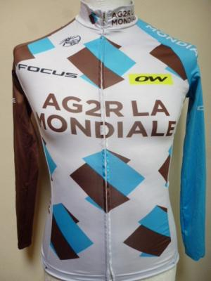 Maillot manches longues AG2R 2016