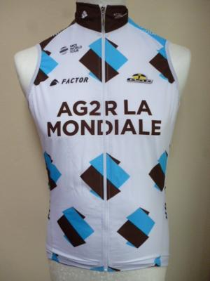 Gilet coupe-vent AG2R 2017 (taille S)