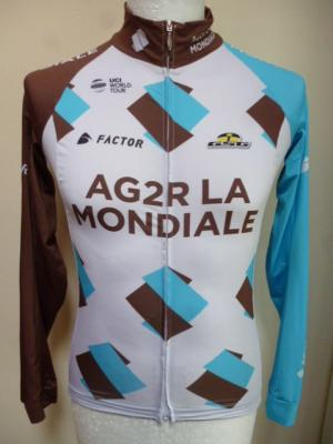 Maillot manches longues AG2R 2017 (taille S)