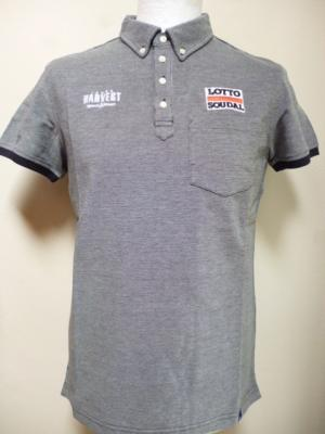 Polo gris LOTTO-SOUDAL 2018