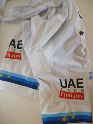 Cuissard aéré UAE-EMIRATES 2018 ch. d'Europe