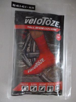 Couvre-chaussures hauts VELOTOZE (taille M)