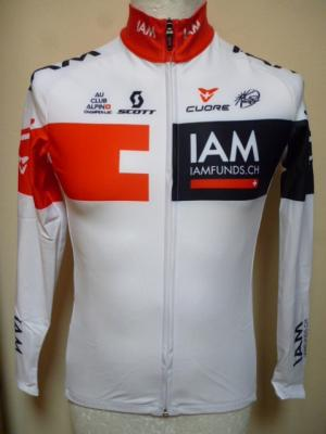 Maillot doublé manches longues luxe IAM