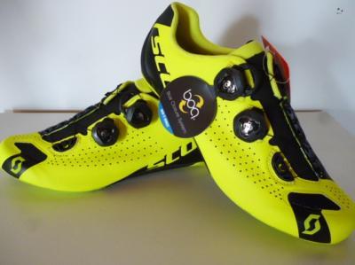 Chaussures jaunes SCOTT-Road RC (taille 42,5)