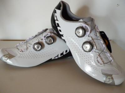 Chaussures blanches SCOTT-Road RC (taille 42,5)