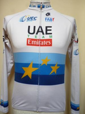 Maillot ML UAE-EMIRATES 2018 ch. d'Europe