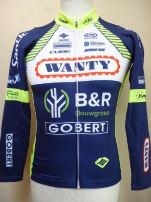 Maillot ML doublé WANTY 2018 (taille XS)