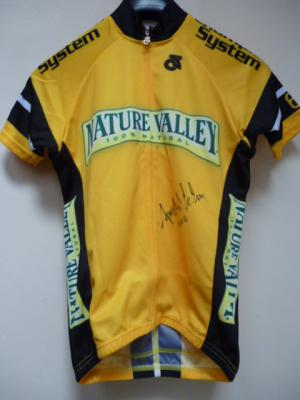 Maillot jaune de leader de la NATURE VALLEY