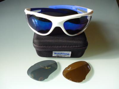 Lunettes SHIMANO S50X (bleu/blanc)
