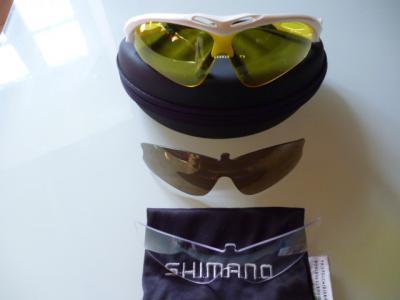 Lunettes SHIMANO S50R (blanc nacré)