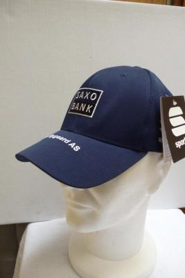 Casquette podium SAXO-BANK bleue