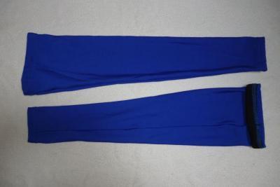 Jambières bleues