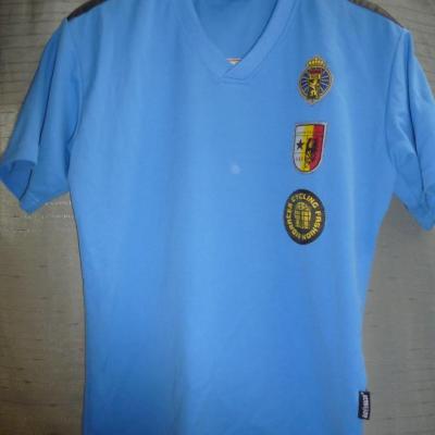T-shirt col V équipe BELGIQUE
