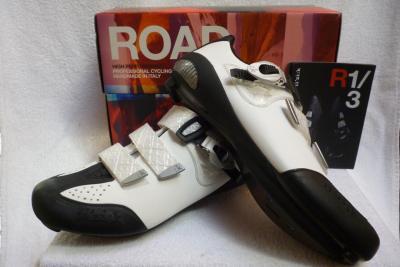 Chaussures FIZIK-R3 blanc/noir