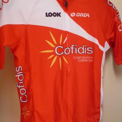 Maillot COFIDIS 2013 (logo Belgique)