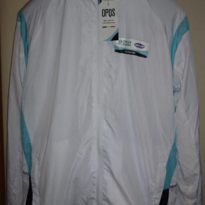Veste survêtement blanche OPQS (taille M)