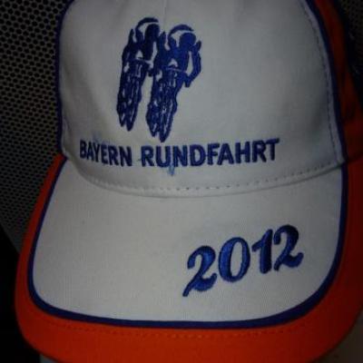 Casquette podium BAYERN RUNDFAHRT 2012